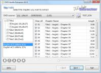 Screenshot programu DVD Audio Extractor 7.2.0