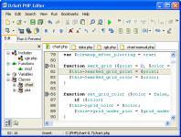 Screenshot programu DzSoft PHP Editor 4.2.7.5