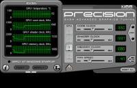 Screenshot programu EVGA Precision 2.0.4