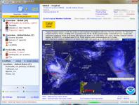 Screenshot programu Earth Alerts 2015.2.22