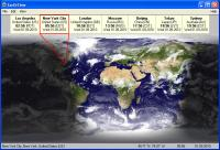 Screenshot programu EarthTime 5.5.4