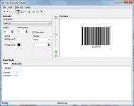 Screenshot programu Easy Barcode Creator 2.0.5
