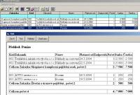 Screenshot programu easy CRM