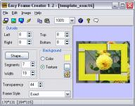 Screenshot programu Easy Frame Creator  1.3