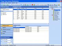 Screenshot programu Easy Time Control Workstation 5.5.142