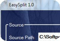 Screenshot programu EasySplit 1.0