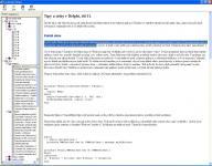 Screenshot programu EazyDelphi Helper 1.0