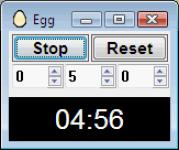 Screenshot programu Egg 1.59
