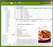 Screenshot programu eKuchařka 2.3