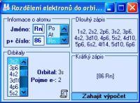Screenshot programu ElectronOrb 1.0.1