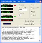 Screenshot programu Elektroměr Pro PC 2008