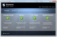 Screenshot programu Element Anti-Virus 2012 6.0.0.2734.5
