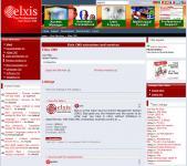 Screenshot programu Elxis CMS 2008.1 Nemesis