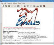 Screenshot programu Emacs 24.0.92.1