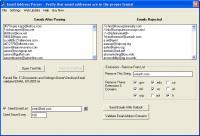 Screenshot programu Email Address Parser 1.6.0
