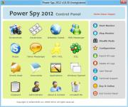 Screenshot programu eMatrixSoft Power Spy 2012 10.31