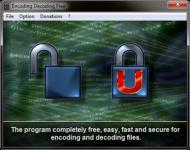 Screenshot programu Encoding Decoding Free 3.0.0 Beta 1d Beta