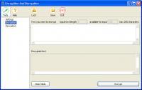 Screenshot programu Encryption and Decryption 1.1