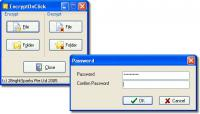 Screenshot programu EncryptOnClick 1.6.0.0