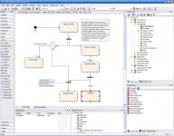 Screenshot programu Enterprise Architect 12.1 Build 1226