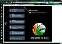 Screenshot programu Epic 1.9.1