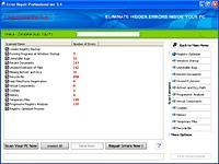 Screenshot programu Error Repair Pro 4.1.1