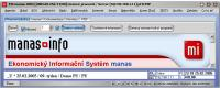 Screenshot programu ES manas 2006