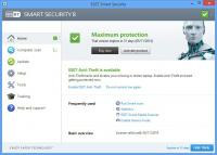 Screenshot programu Eset Smart Security 9.0.327.0