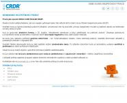 Screenshot programu eŠkolení pro BOZP a PO V2014-01