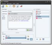 Screenshot programu Esmska 1.3