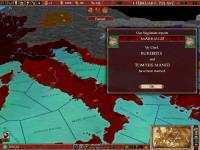 Screenshot programu Europa Universalis: Rome patch 2.1