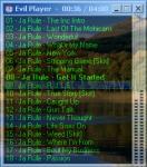 Screenshot programu Evil Player 1.31