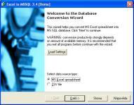 Screenshot programu Excel to MSSQL 3.4