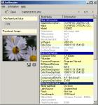 Screenshot programu Exif Reader 3.0