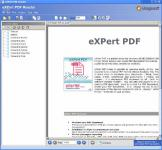 Screenshot programu eXPert PDF Reader 8.0.580