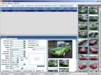 Screenshot programu Export Cars 1.0