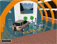 Screenshot programu Expos - výstavní stánky 11.0