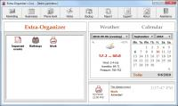 Screenshot programu Extra-Organizer 3.32
