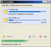 Screenshot programu ExtractNow 4.8.2.0