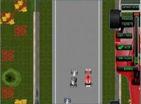 Screenshot programu F1 Racing