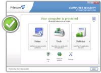 Screenshot programu F-Secure Internet Security 2013 12.71 Build 102