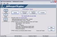 Screenshot programu F-prot Antivirus 6.0.9.6
