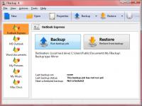 Screenshot programu FBackup 6.0 Build 122
