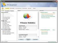 Screenshot programu FCleaner 1.3.1.621 Portable