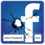 Screenshot programu Facebook blocker 1.0