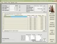 Screenshot programu Fakturace PONY, faktury, dodací listy 4.25