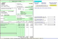 Screenshot programu Fakturace pro plátce DPH 1.2 Excel 07-13