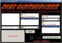 Screenshot programu Fast Convert Image 1.0