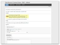 Screenshot programu Fast Secure contact form