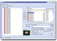 Screenshot programu FastStone Photo Resizer 3.5